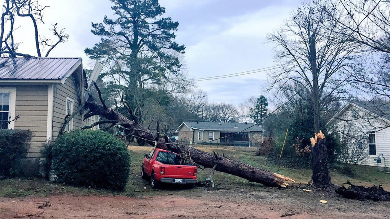 Preliminary NWS Report EF 1 Tornado Touched Down In Georgia