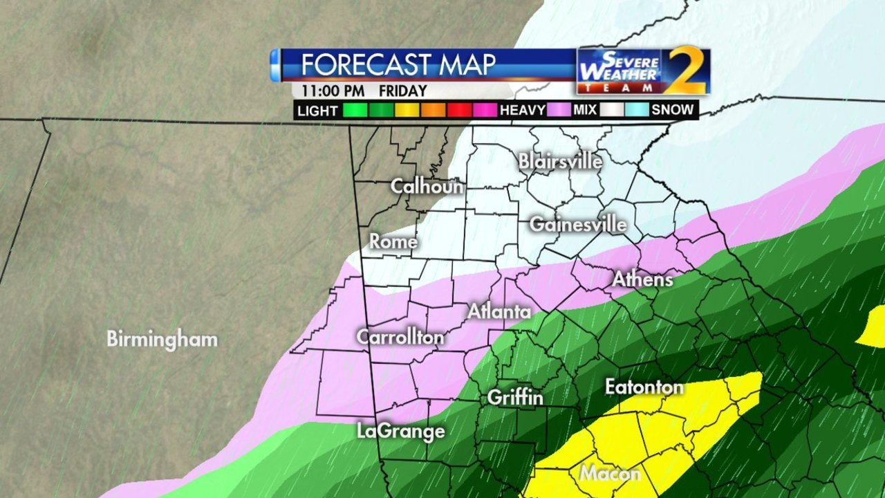 atlanta snow winter storm watch issued ahead of expected 2 4