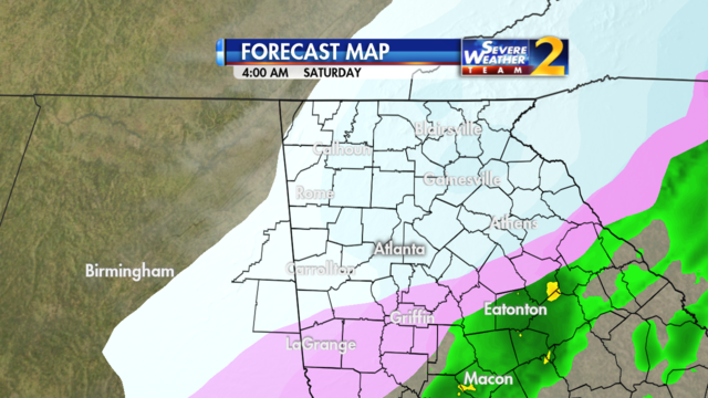Forecast for 4 a.m. Jan. 7