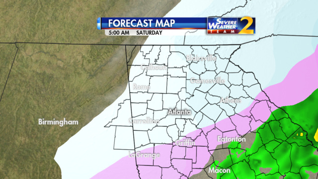 Forecast for 5 a.m. Jan. 7