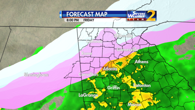Forecast for 8 p.m. Jan. 6