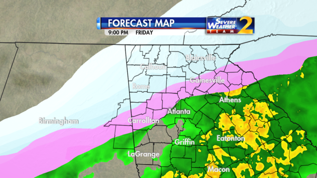 Forecast for 9 p.m. Jan. 6