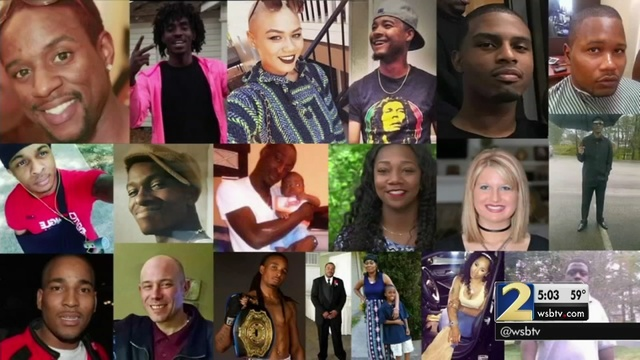 ATLANTA UNSOLVED HOMICIDES: These are the 51 victims of 2016's
