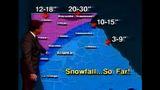 Glenn Burns tracking the blizzard