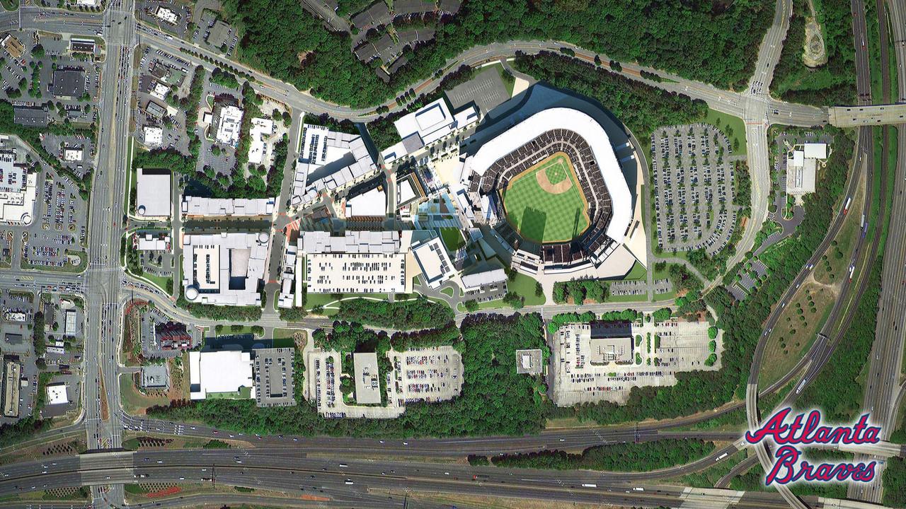 Battery Atlanta Map.Braves Parking Here S Where To Park At The New Atlanta Braves