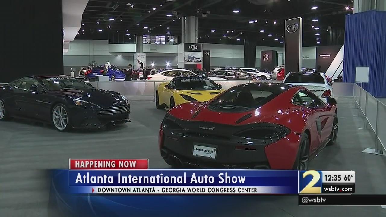 Atlanta News Videos WSBTV - Car show world congress center atlanta