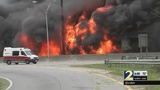 3 people in custody in connection with I-85 fire