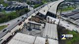 NewsDrone 2 shows progress of I-85 bridge repair