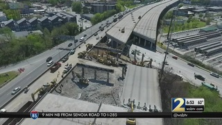 GDOT: I-85 bridge construction could be complete by June