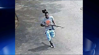 Image shows gunman wanted in deadly motel shooting