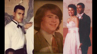 Can you identify WSB-TV anchors by prom, high school photos?