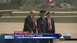 President Donald Trump travels to Atlanta
