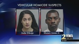 Pregnant woman and police officer accused in a deadly street racing crash