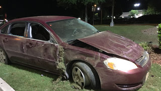 Police: Man kicked out of club starts shooting, crashes car