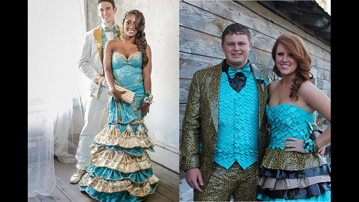 PHOTOS: See prom dresses made of duct tape(that could be worth ...