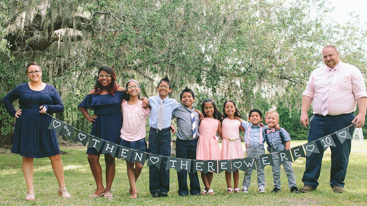 7 Siblings Adopted Together In Georgia After Years In Foster Care  Wsbtv