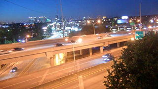 Smooth first rush hour after I-85 reopens