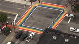 More than 20,000 support the idea of permanently painting the sidewalk rainbow.