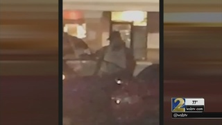 Witness describes chaotic moments gunfire erupted in grocery store parking lot