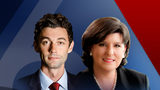 Jon Ossoff and Karen Handel.