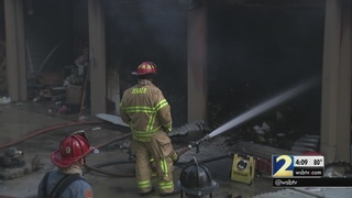 Witness believes someone lived in self-storage unit that caught fire