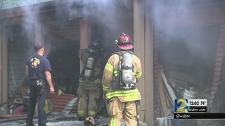Witness believes someone may have lived in self-storage unit that caught fire