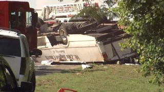 1 dead, nearly 2 dozen injured in bus crash involving church youth group