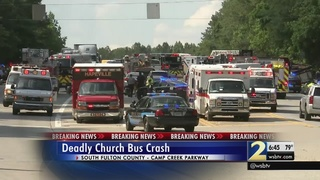 Grandmother learns granddaughter was a passenger on church bus that…