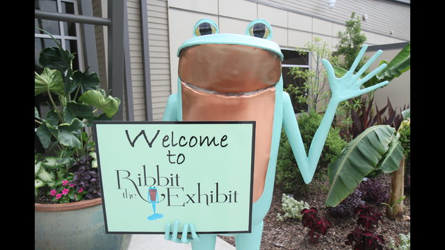 PHOTOS: \'Ribbit\' leaps into Atlanta Botanical Garden in Gainesville ...
