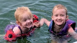 Fun day at lake turns to life-threatening emergency for 2 young girls
