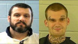 Donnie Russell Rowe, 43, and Ricky Dubose, 24 are accused of shooting and killing two correctional officers.