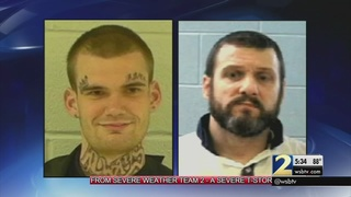 Neighbors are on edge after two escaped inmates were spotted in their community