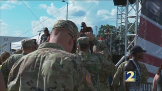 USO and Kroger host military families at Fort Stewart
