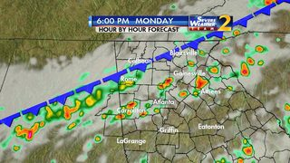 Showers, storms to move out of metro