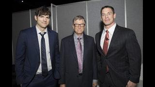 PHOTOS: Bill Gates, WWE star, Ashton Kutcher, Jack Nicklaus gather in Atlanta