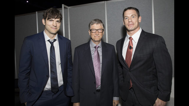Thumbnail for PHOTOS: Bill Gates, WWE star, Ashton Kutcher, Jack Nicklaus gather in Atlanta