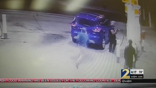 Uber driver says she almost lost her life stopping at gas station on…