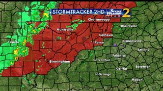 Tornado Watch issued for parts of northwest Georgia