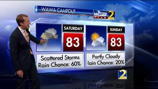 Great American Campout forecast 2017