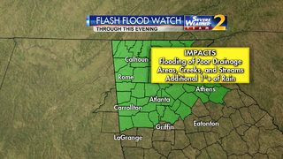 Widespread rain expected Saturday