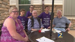 Students attend intergenerational summer camp
