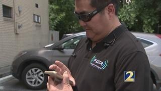 Vision-impaired man develops special navigation app