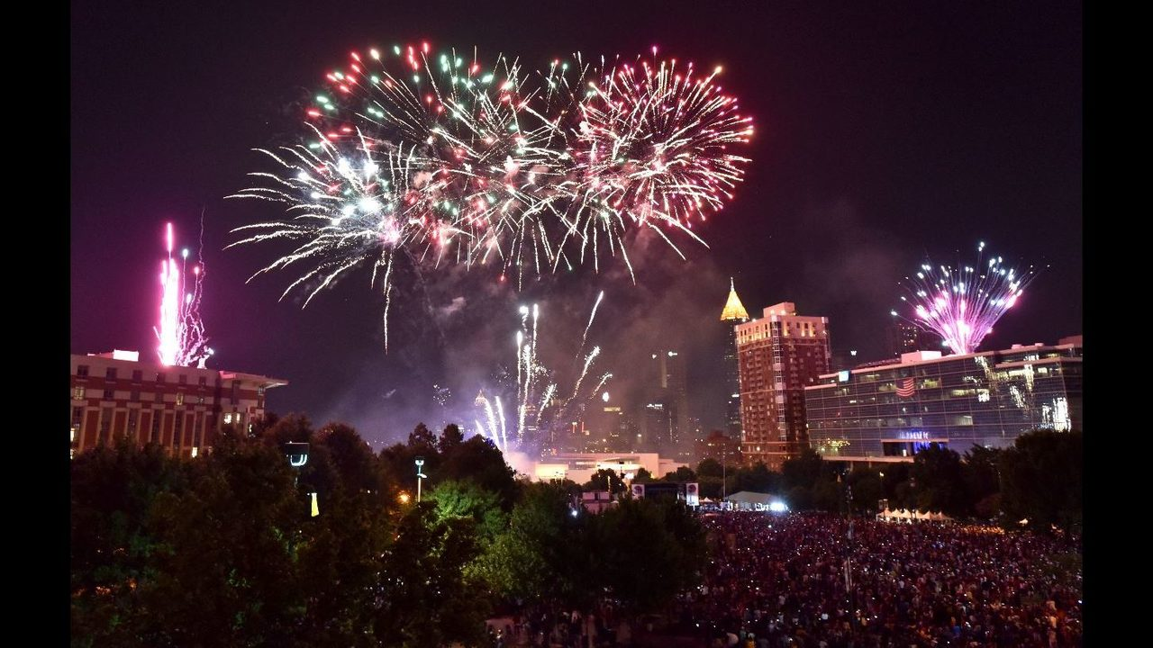 4th of july fireworks where to watch fireworks around metro