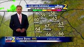 A cooler start to your Tuesday