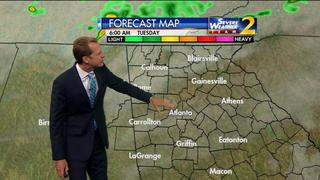 Sunshine, low humidity ahead early Monday evening