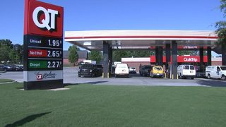 Gas prices at their lowest level in 12 summers