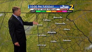 Mostly clear skies ahead Tuesday evening