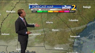 Mostly sunny skies ahead early Tuesday evening