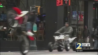 Police Chief: ATV riders block streets causing traffic nightmares