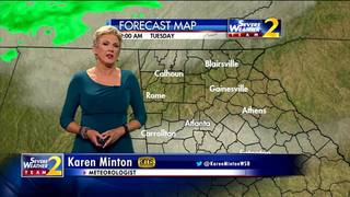 Temperatures on the rise this afternoon